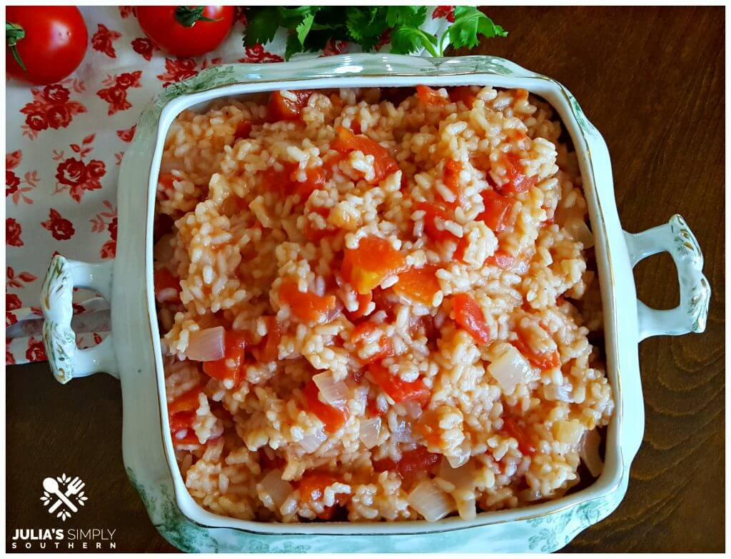 Old fashioned Southern tomatoes and rice recipe