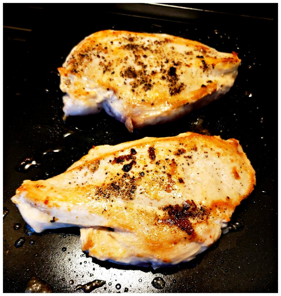 Easy pantry chicken recipes cooked on stove top griddle