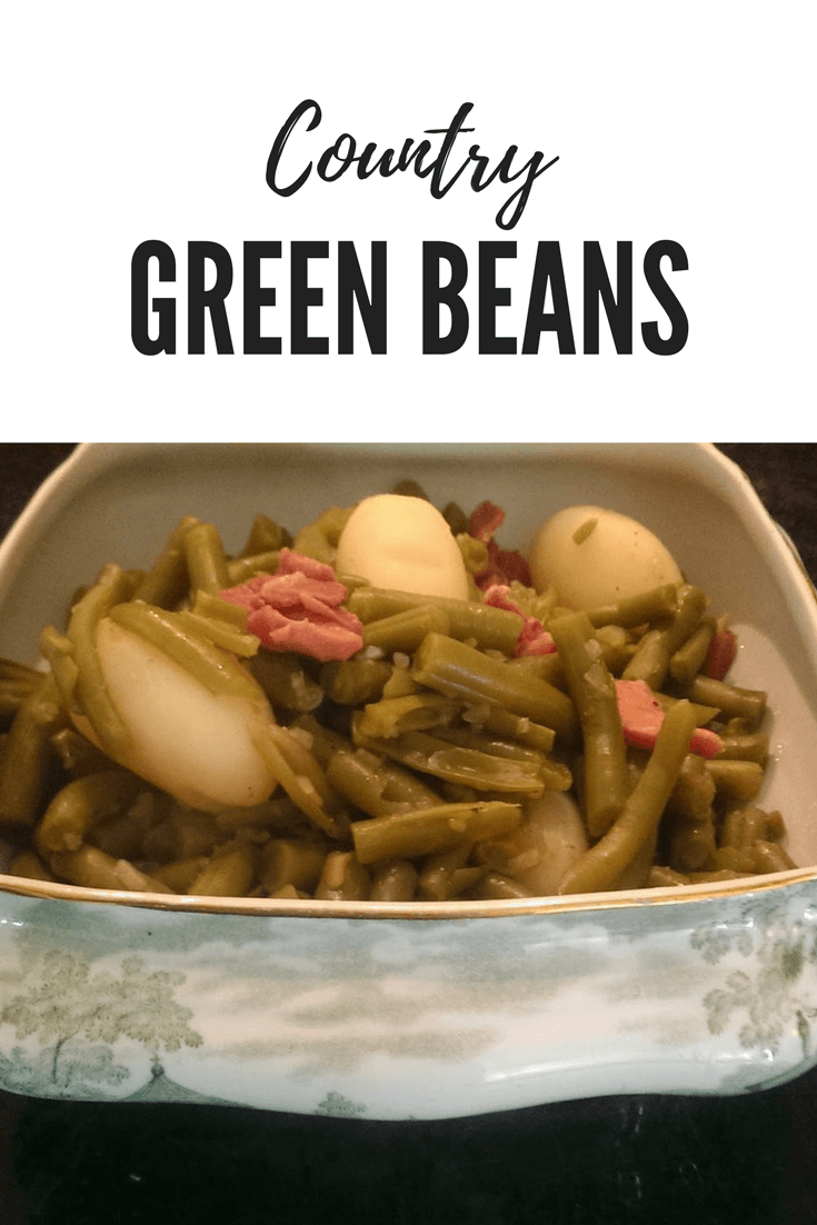 Country Style Green Beans - Southern