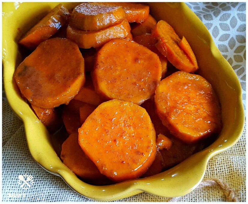 Southern Candied Sweet Potato Yams - a holiday side dish