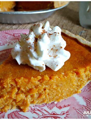 Old Fashioned Southern Sweet Potato Pie, a delicious soul food dessert perfect for holiday meals