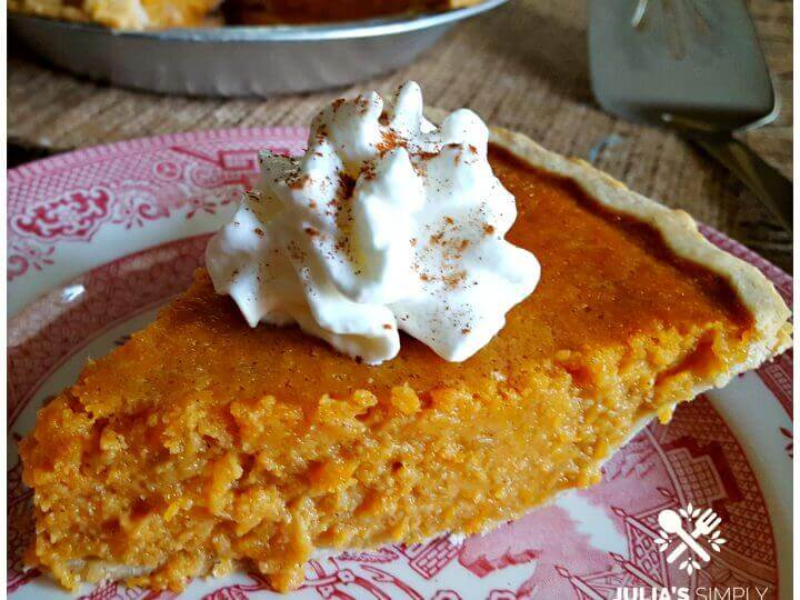 Old Fashioned Sweet Potato Pie Julias Simply Southern