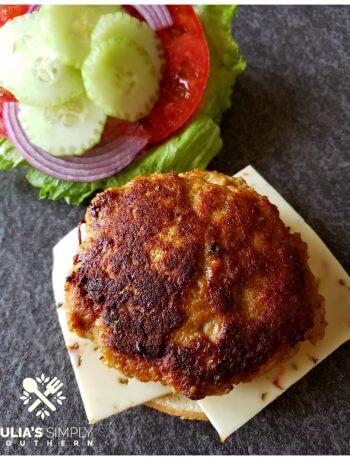 Cajun Turkey Burgers Recipe