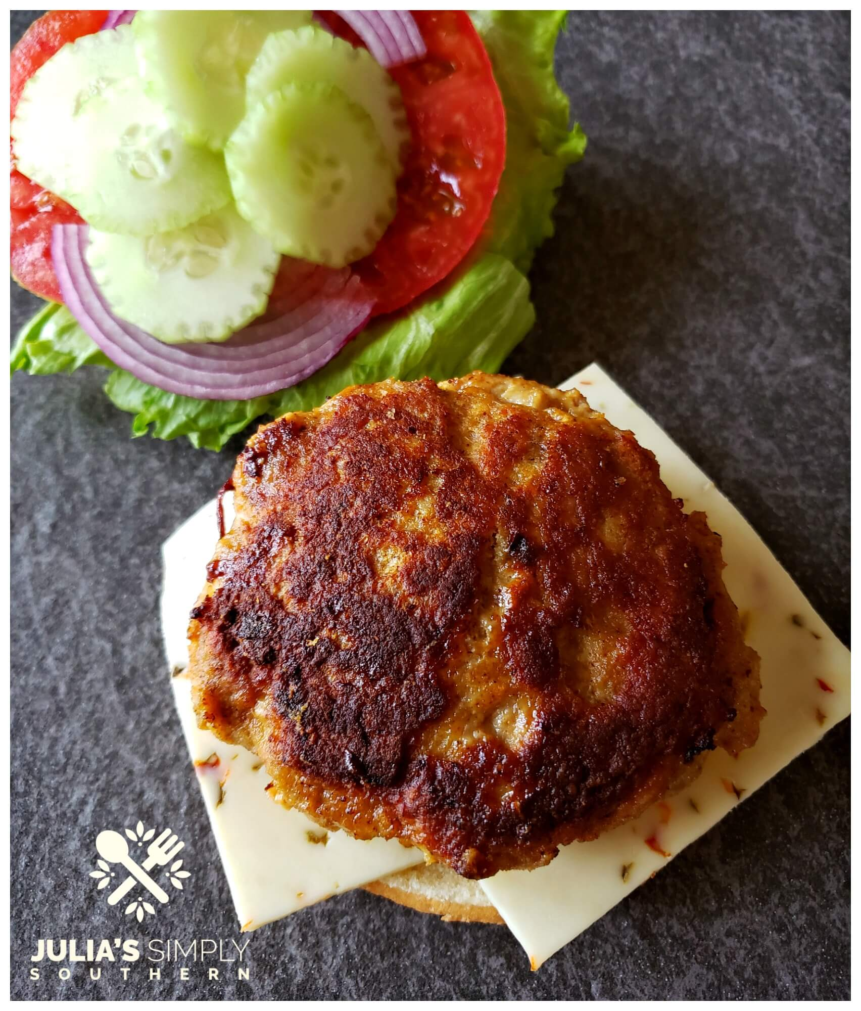 Cajun Turkey Burgers Recipe