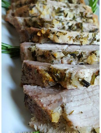 Garlic and Herb Crusted Pork Roast Recipe - Julia's Simply Southern -