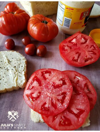 Duke's Mayonnaise Southern Tomato Sandwich Recipe