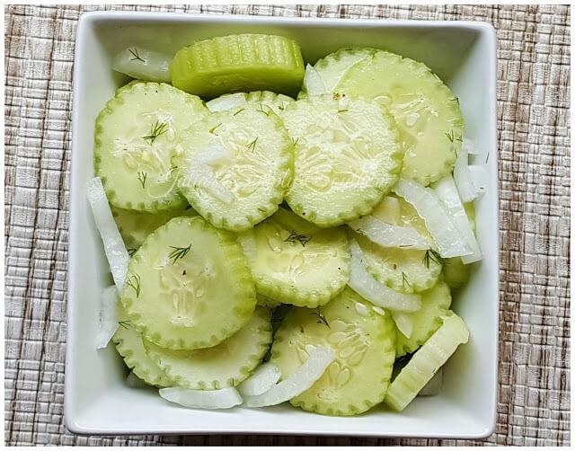 Cucumber Salad - Best Recipe
