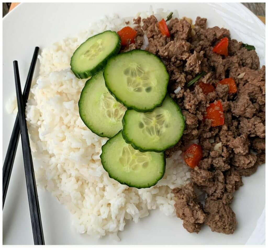 Asian Inspired Thai Beef Recipe