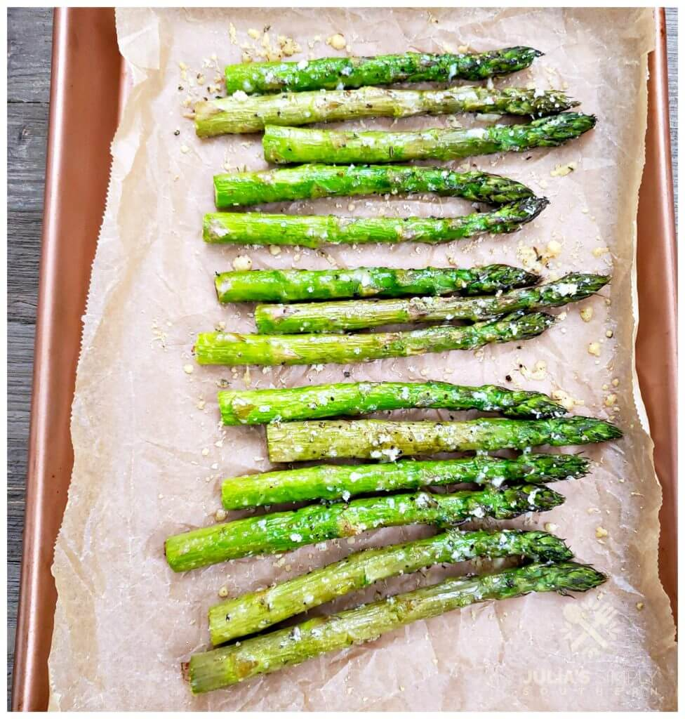 How to roast asparagus in the oven perfectly