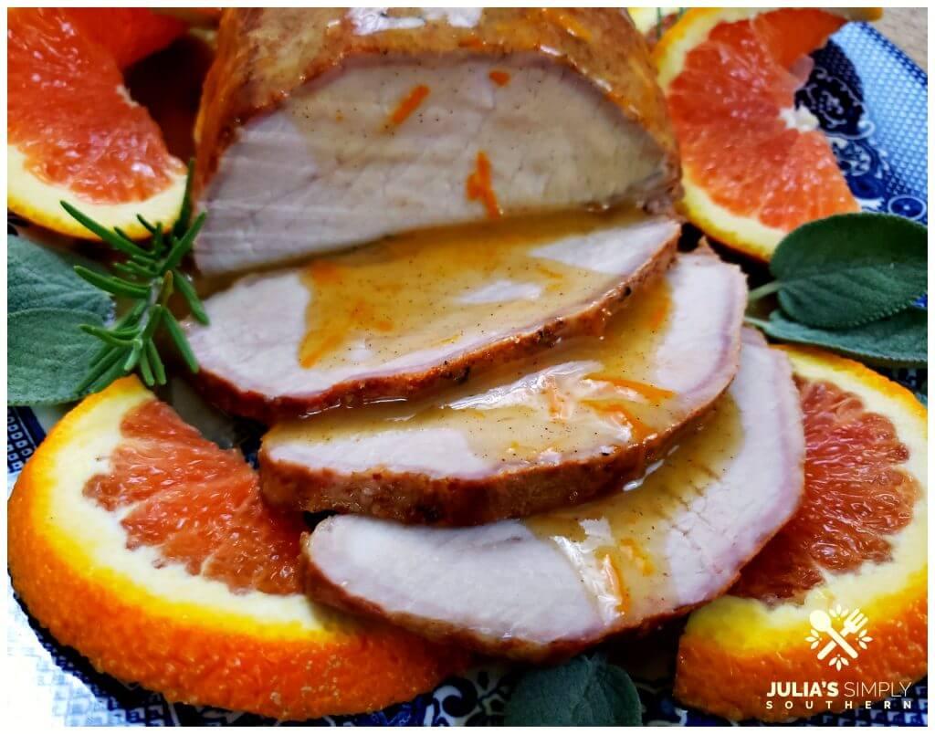 Perfectly cooked juicy pork roast recipe