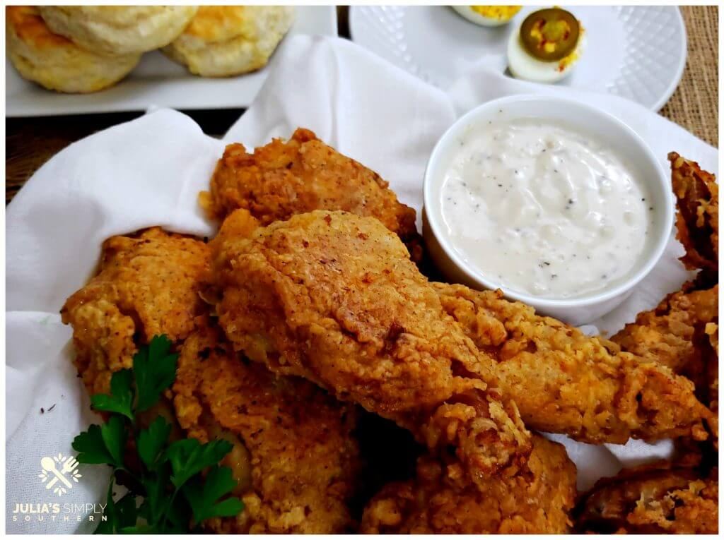 Amazing Southern Fried Chicken Recipe