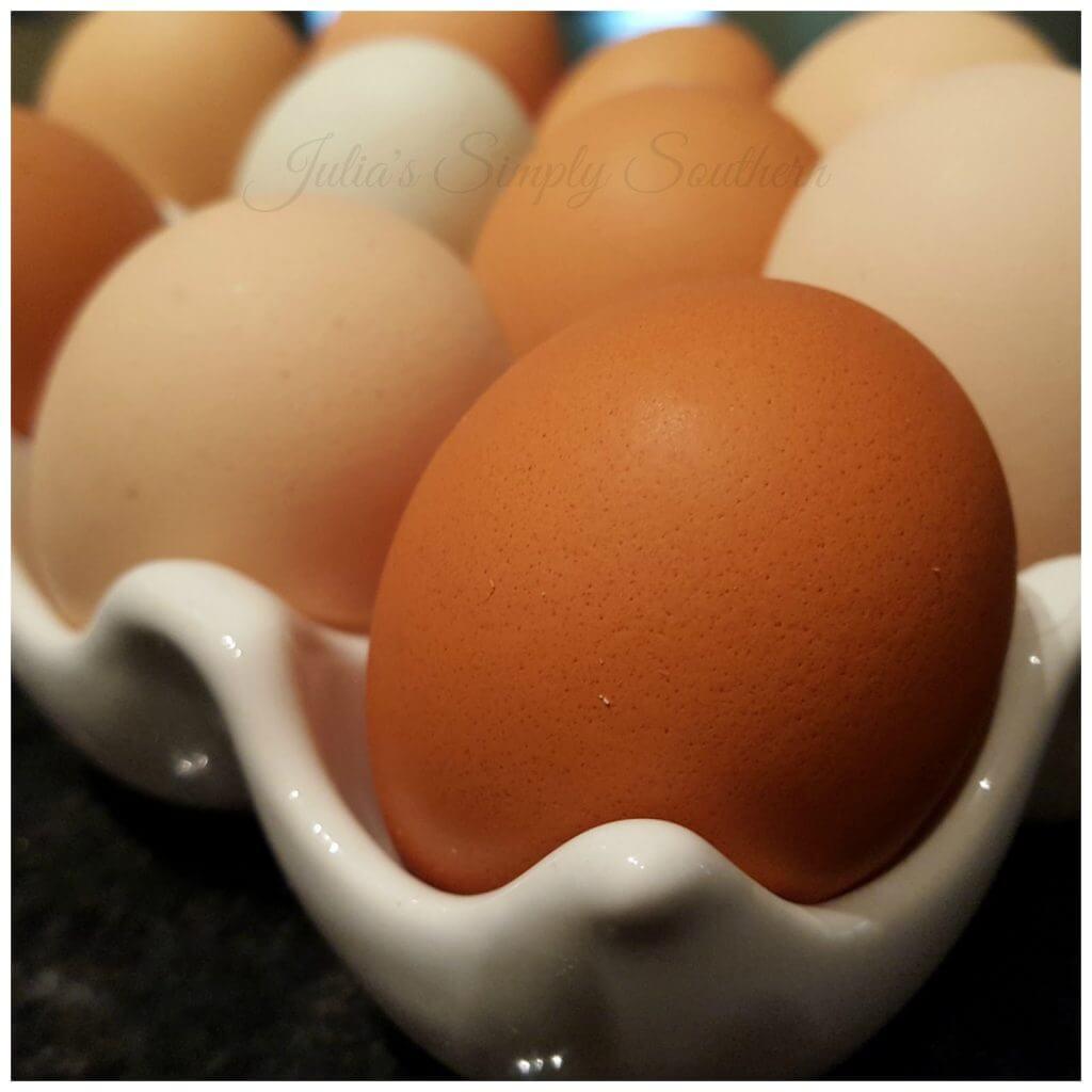 Farm Fresh Eggs to prepare eggs sunny side up