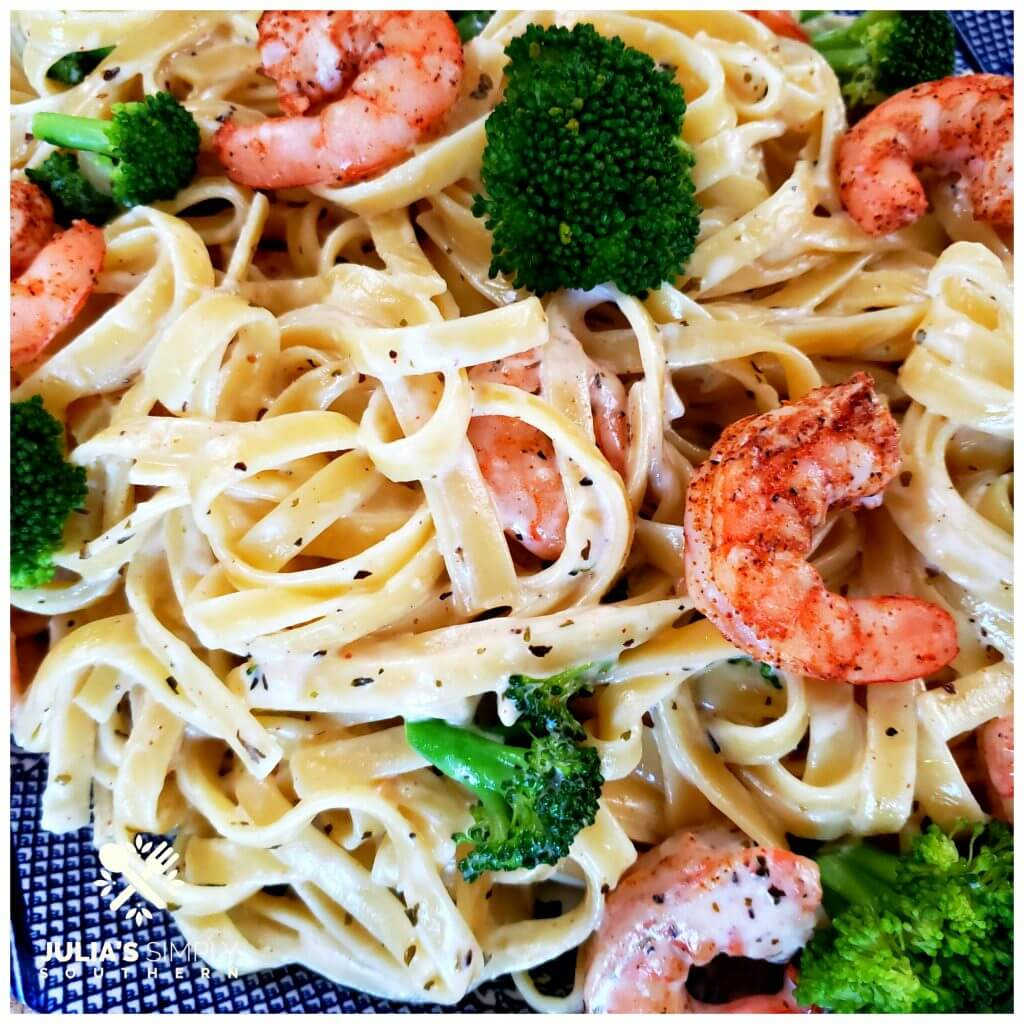 Shrimp broccoli pasta recipe