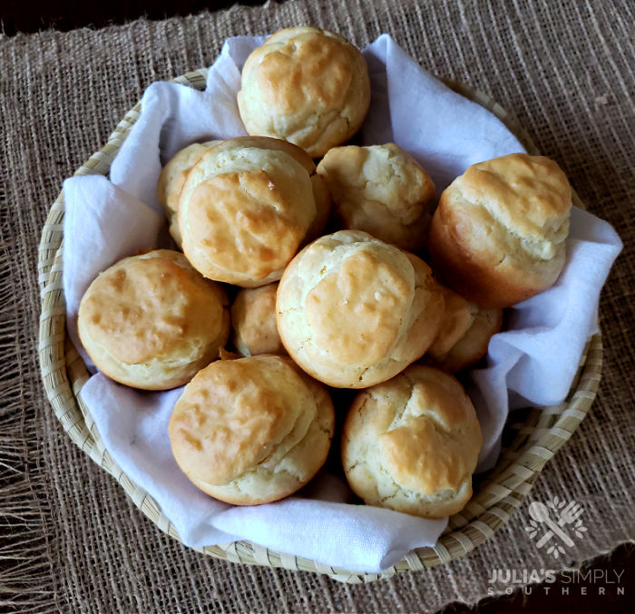 Homemade Mayonnaise Biscuits - bread - easy rolls