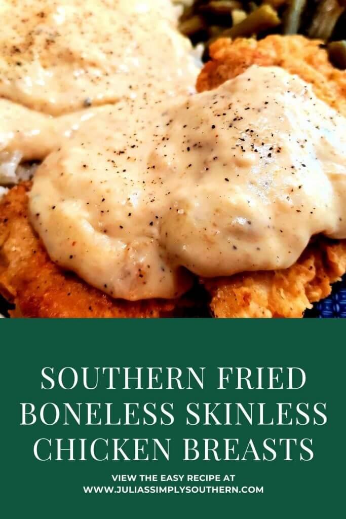 Pinterest fried boneless chicken breast recipe