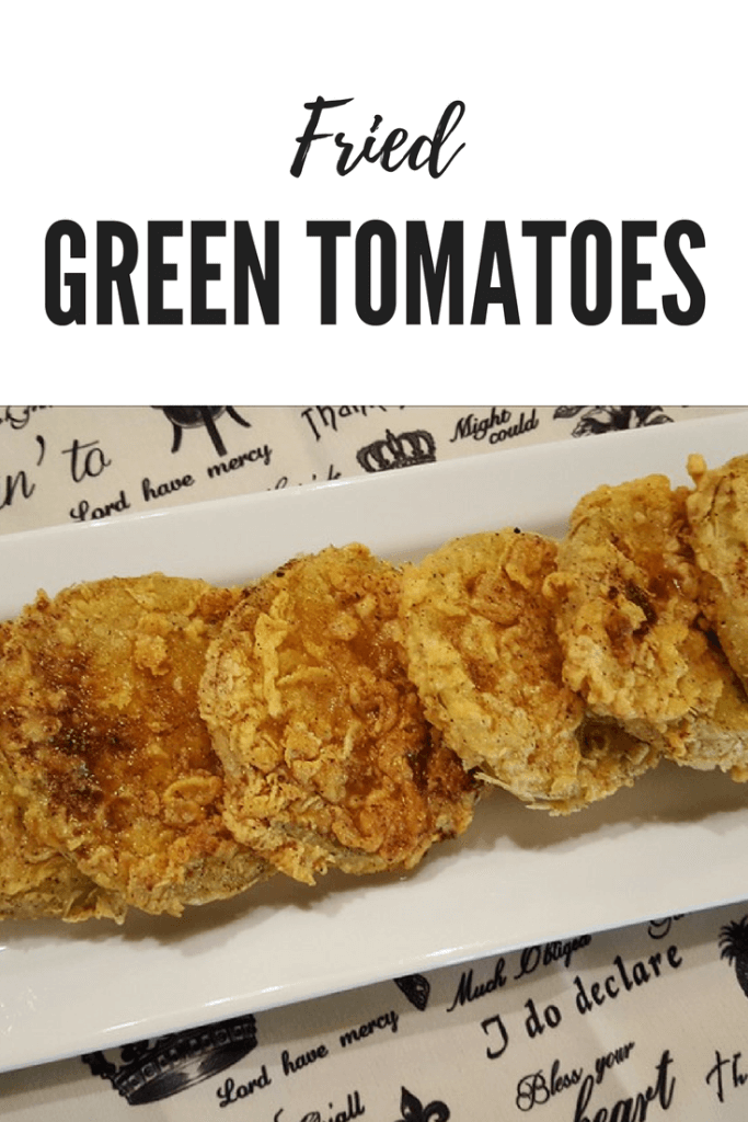 Southern Fried Green Tomatoes - A delicious appetizer or side dish recipe #tomatoes #easyrecipe #summer
