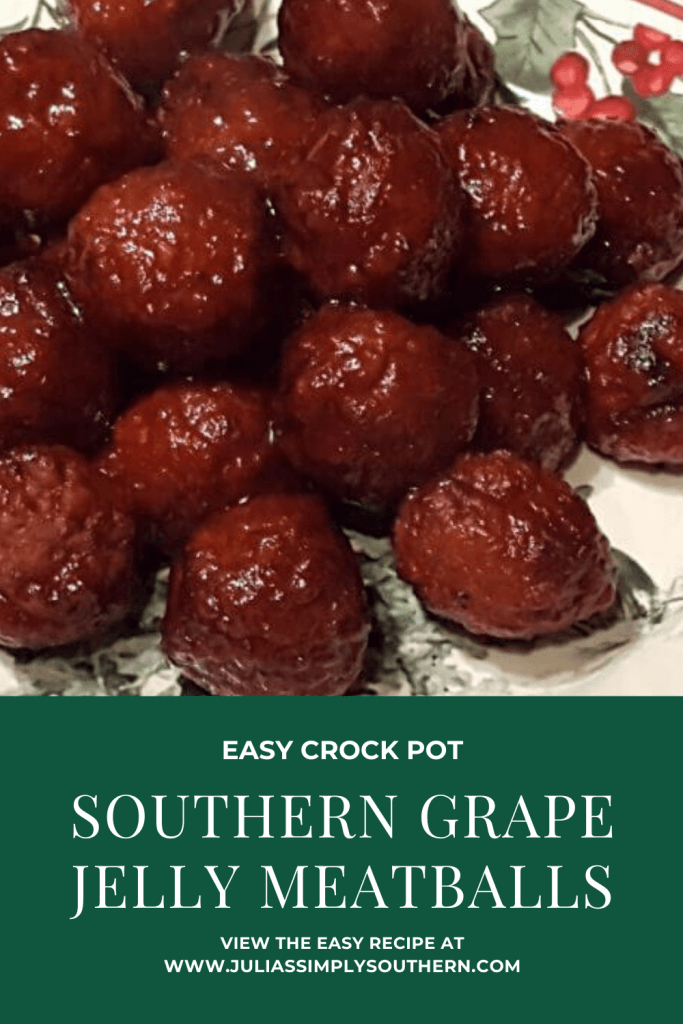 Pinterest grape jelly meatballs