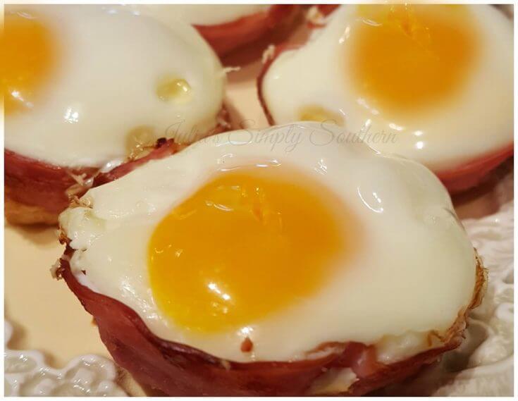 Easy breakfast for busy mornings - egg muffins breakfast cups