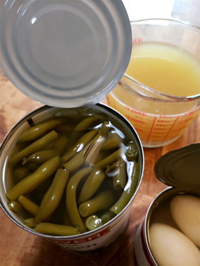 Hanover canned green beans