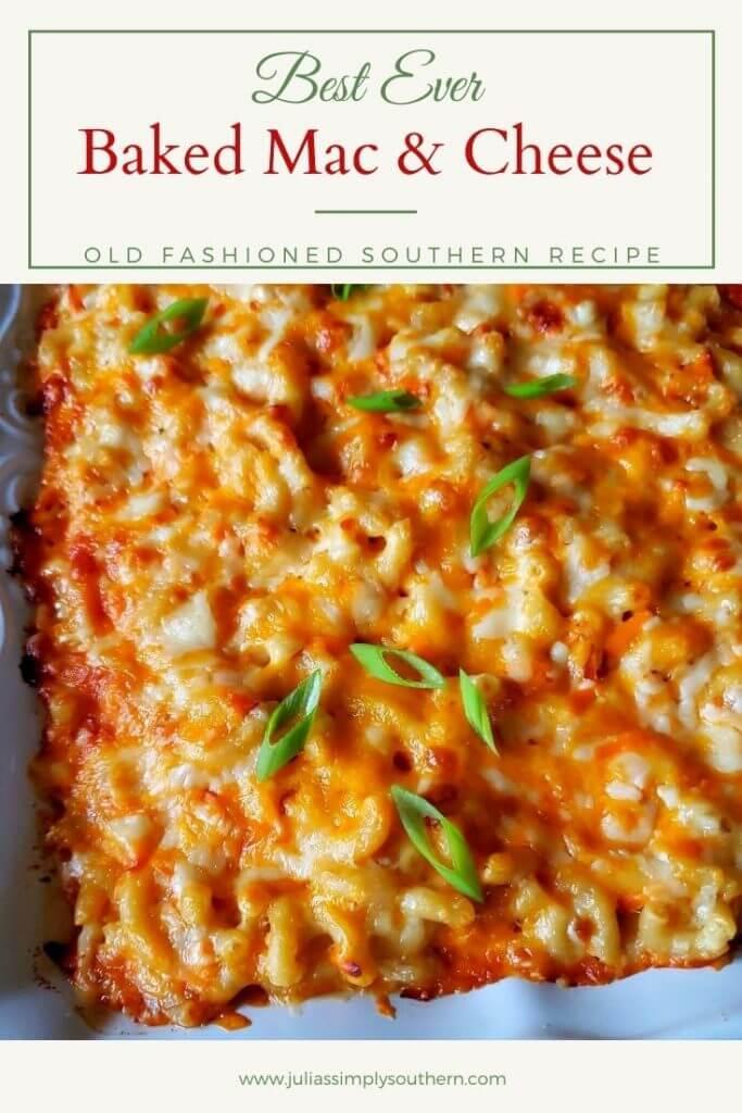 Southern Macaroni & Cheese - Pinterest