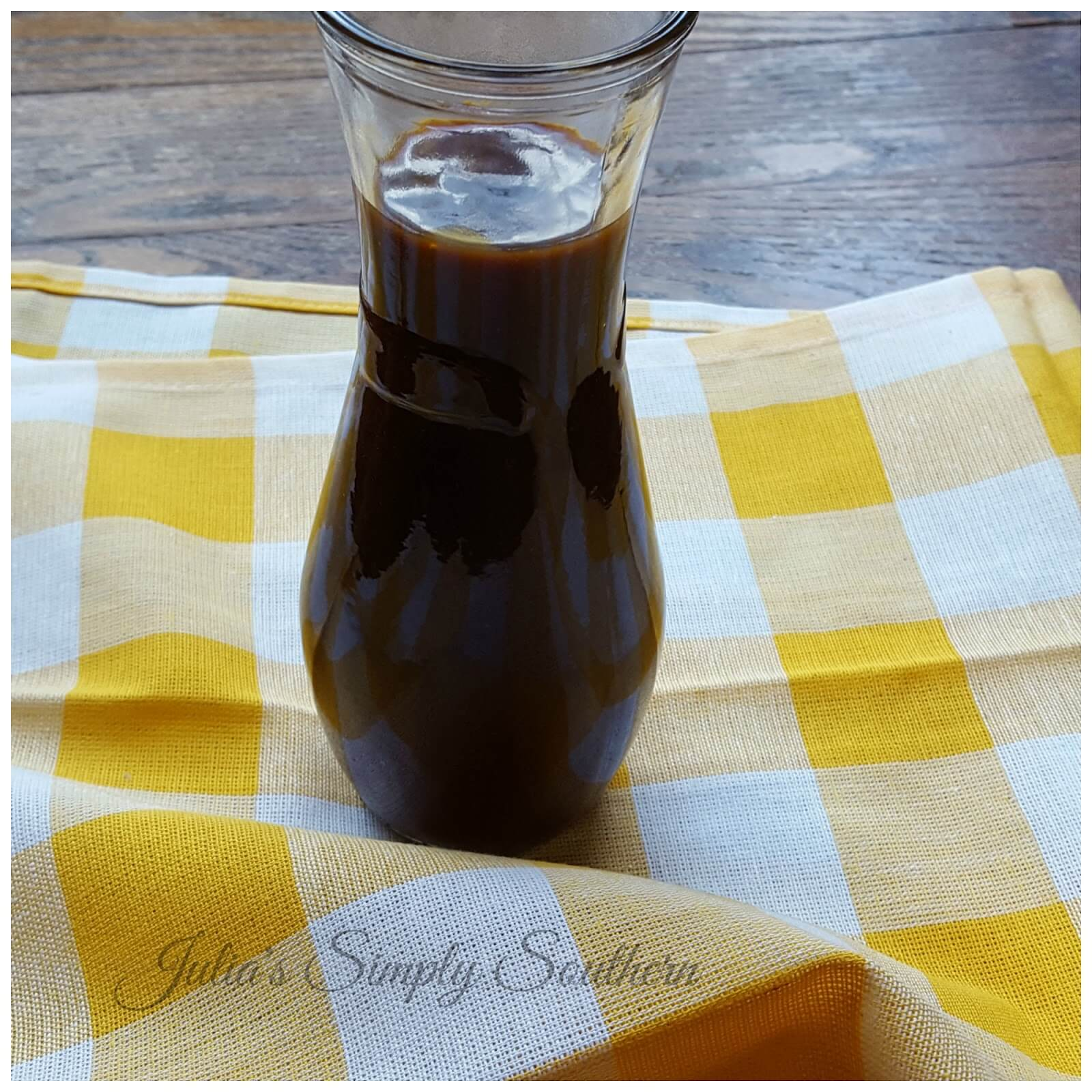 Easy homemade barbecue sauce
