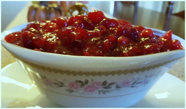 Basic Homemade Cranberry Sauce
