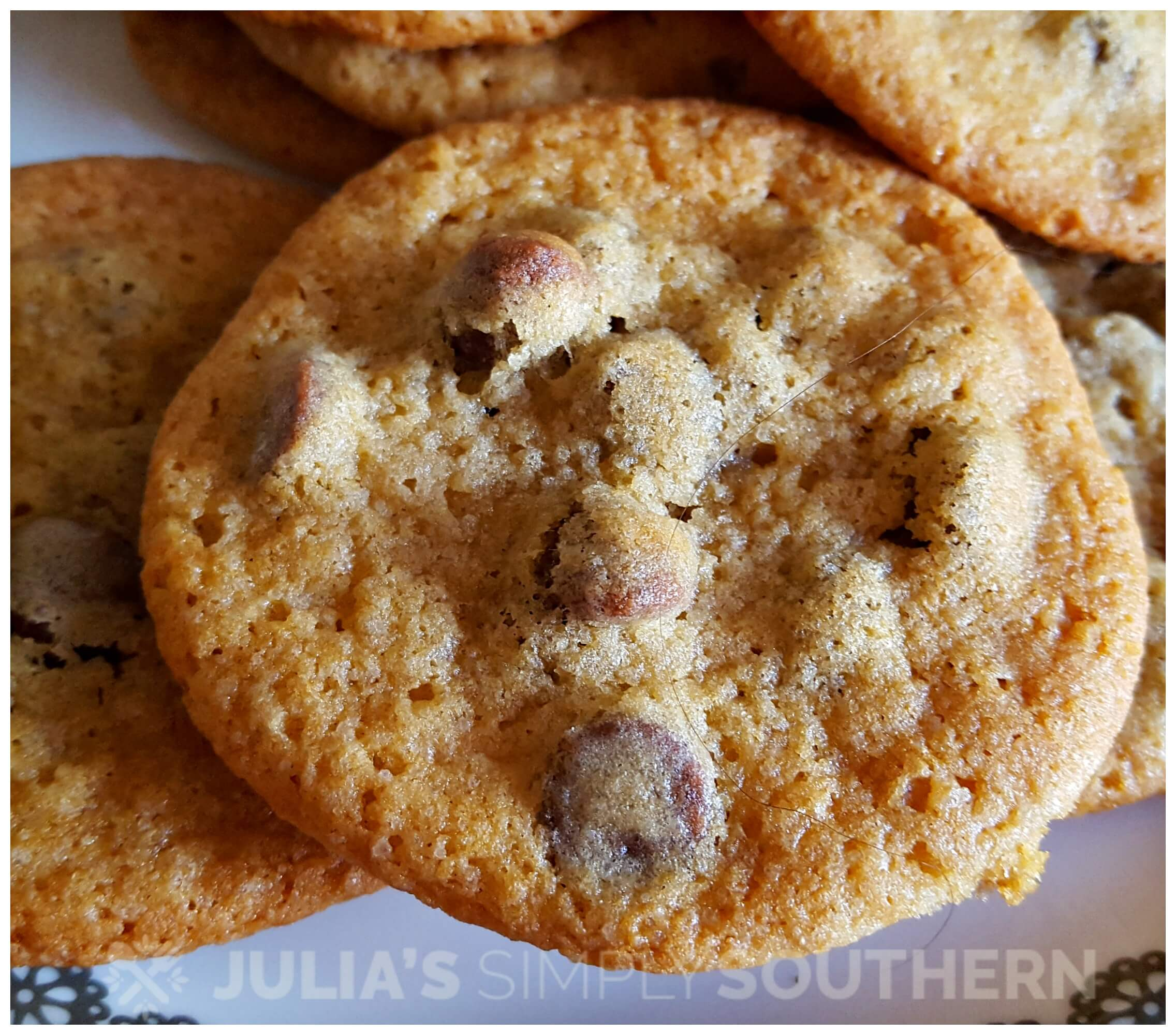 Original Chocolate Chip Cookies invented by Ruth Wakefield