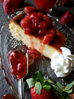 Best ever Strawberry topping recipe for cheesecake - amazing