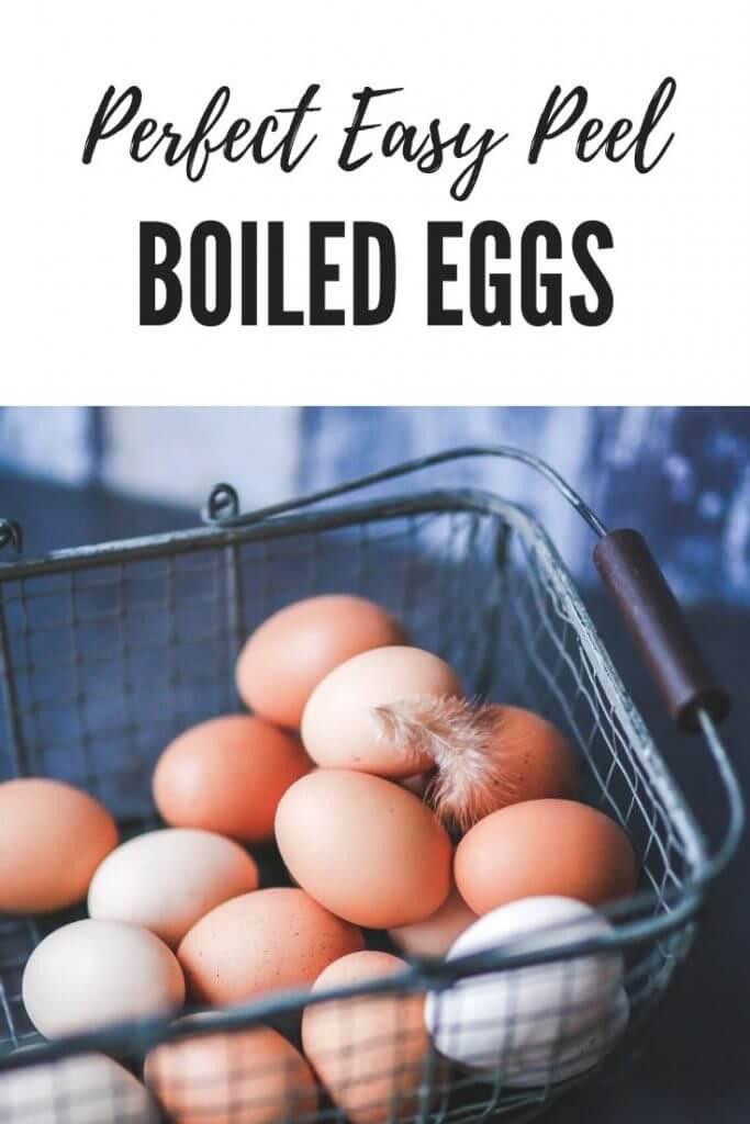 Easy Peel Boiled Eggs