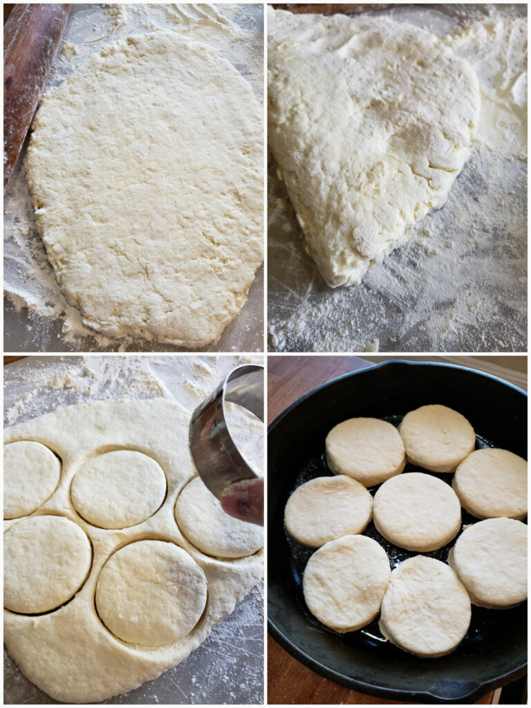 Steps for making Southern self rising flour biscuits recipe