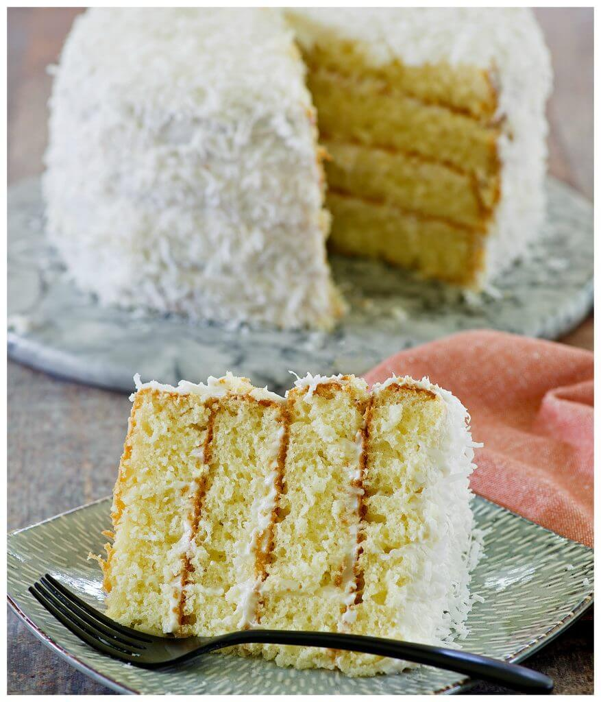 4 layered coconut cake recipe