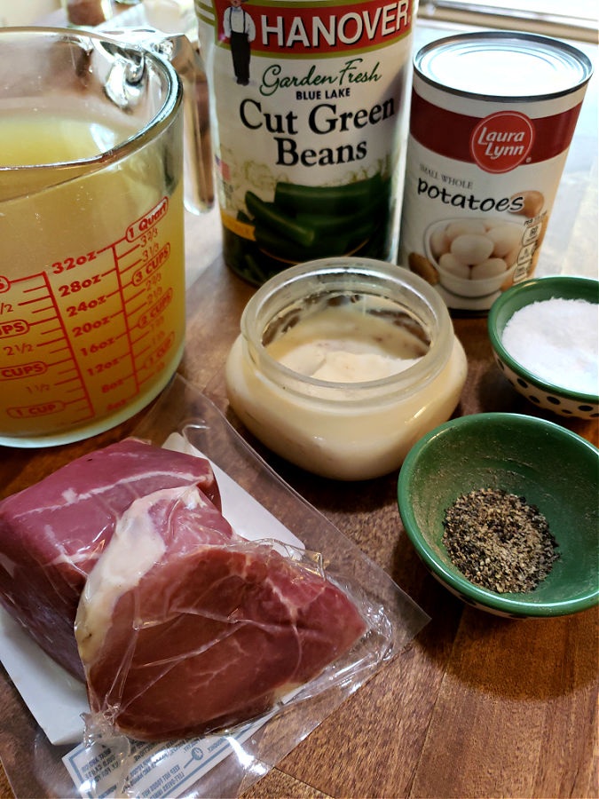 how to cook canned green beans and what you'll need