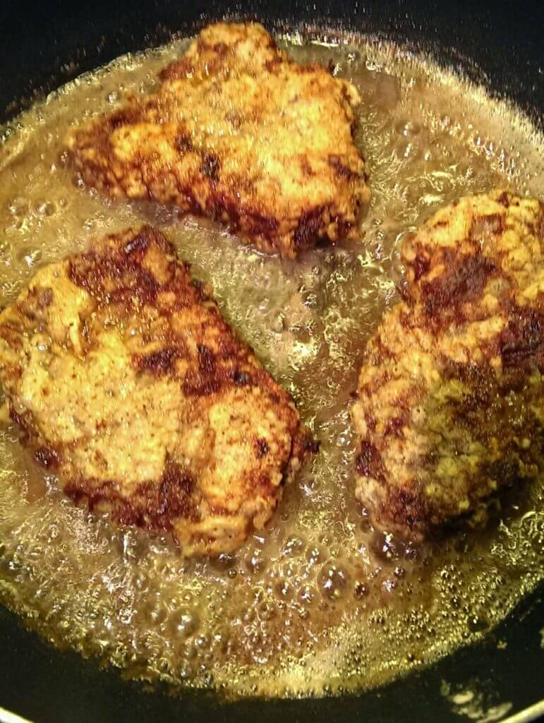 country fried cubed steaks