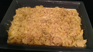canned chicken and noodle casserole
