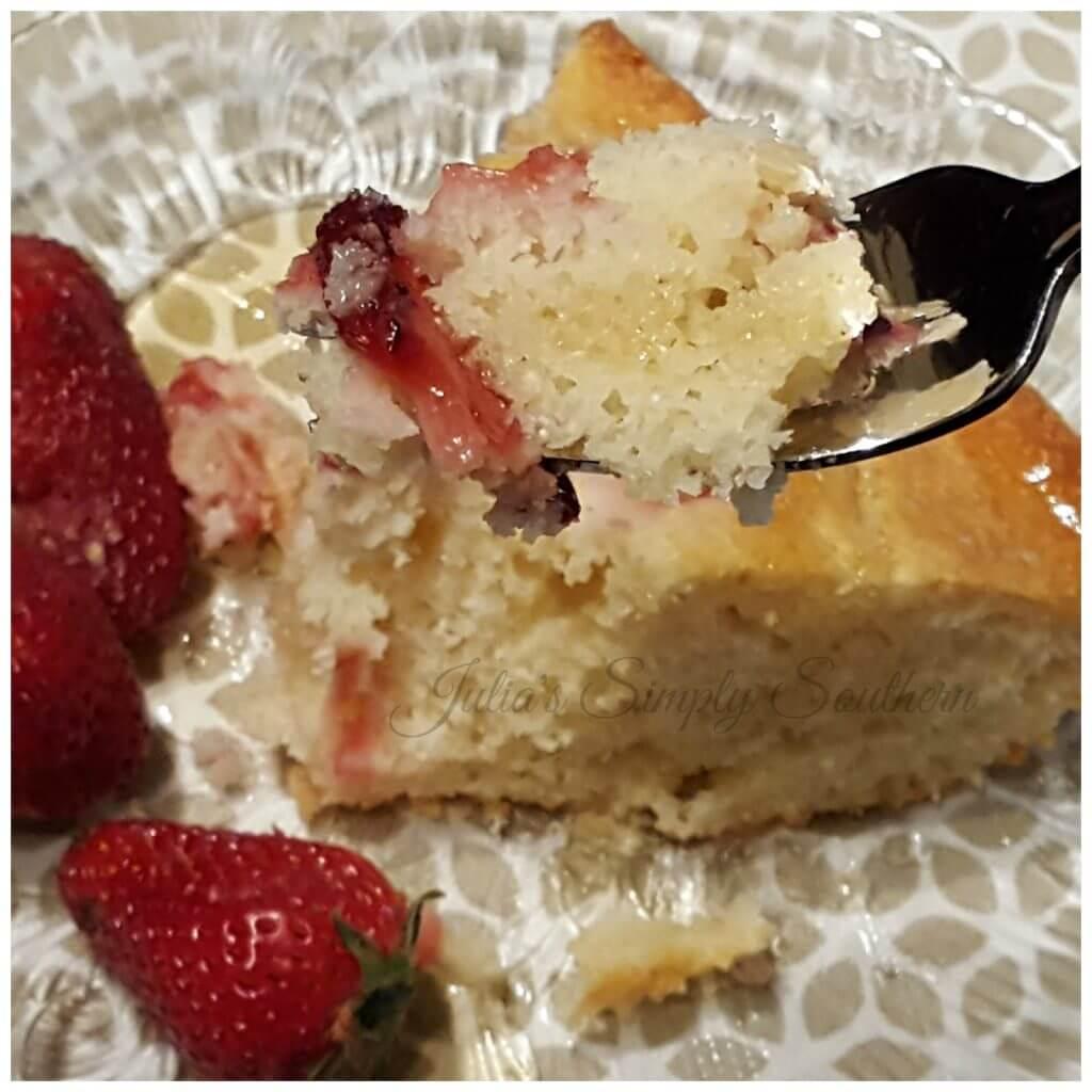 Strawberry Cornbread