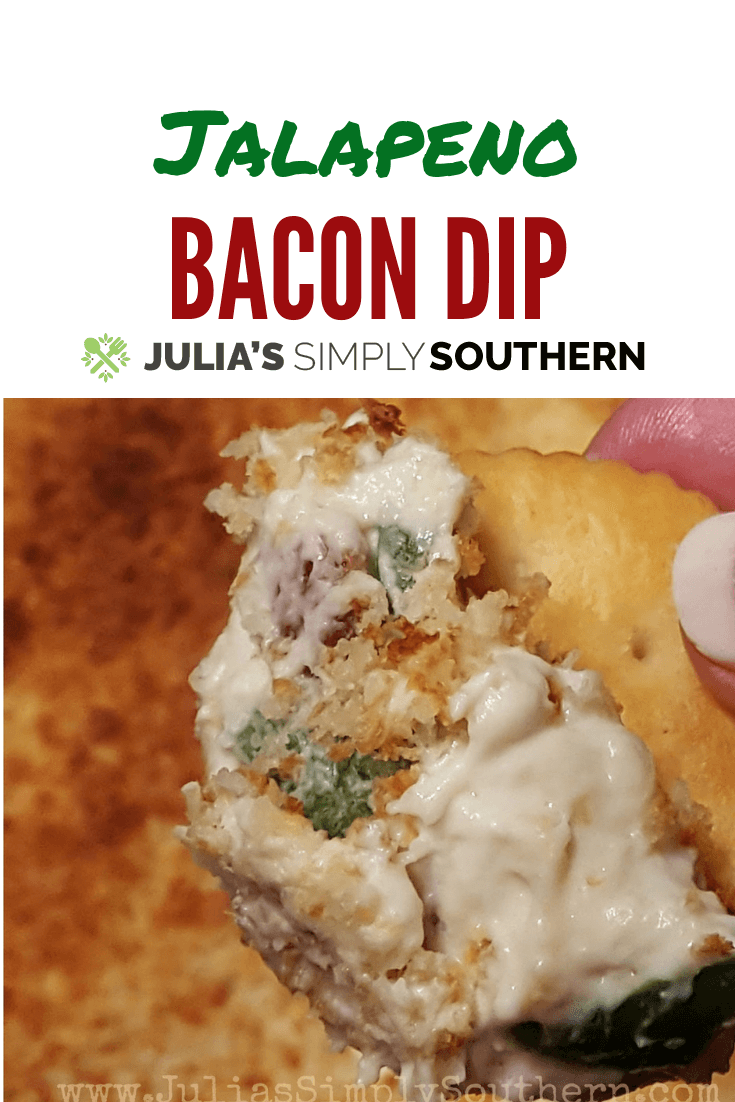 Best dip recipes - Jalapeno Bacon Dip - cheesy and delicious