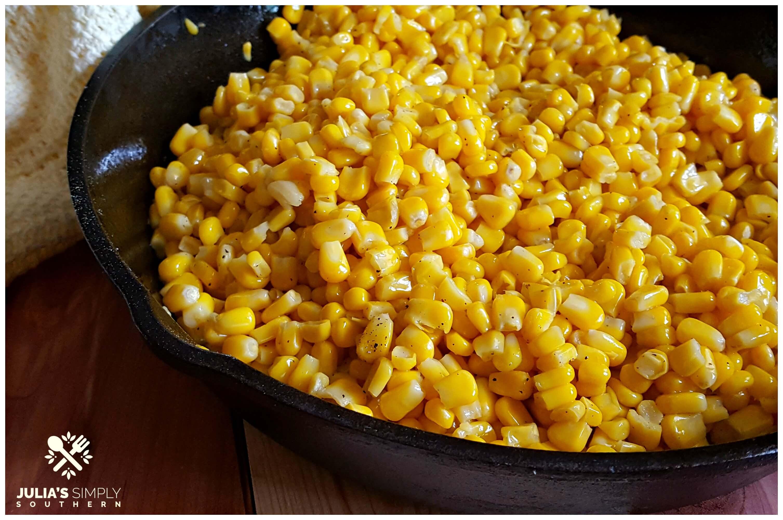 Fried Corn Recipe - Sweet and Savory