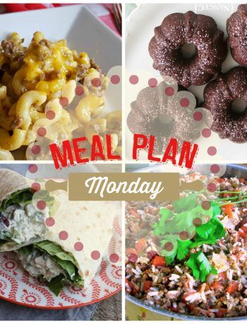Meal Plan Monday #111 - Free Meal Planning Recipe Ideas
