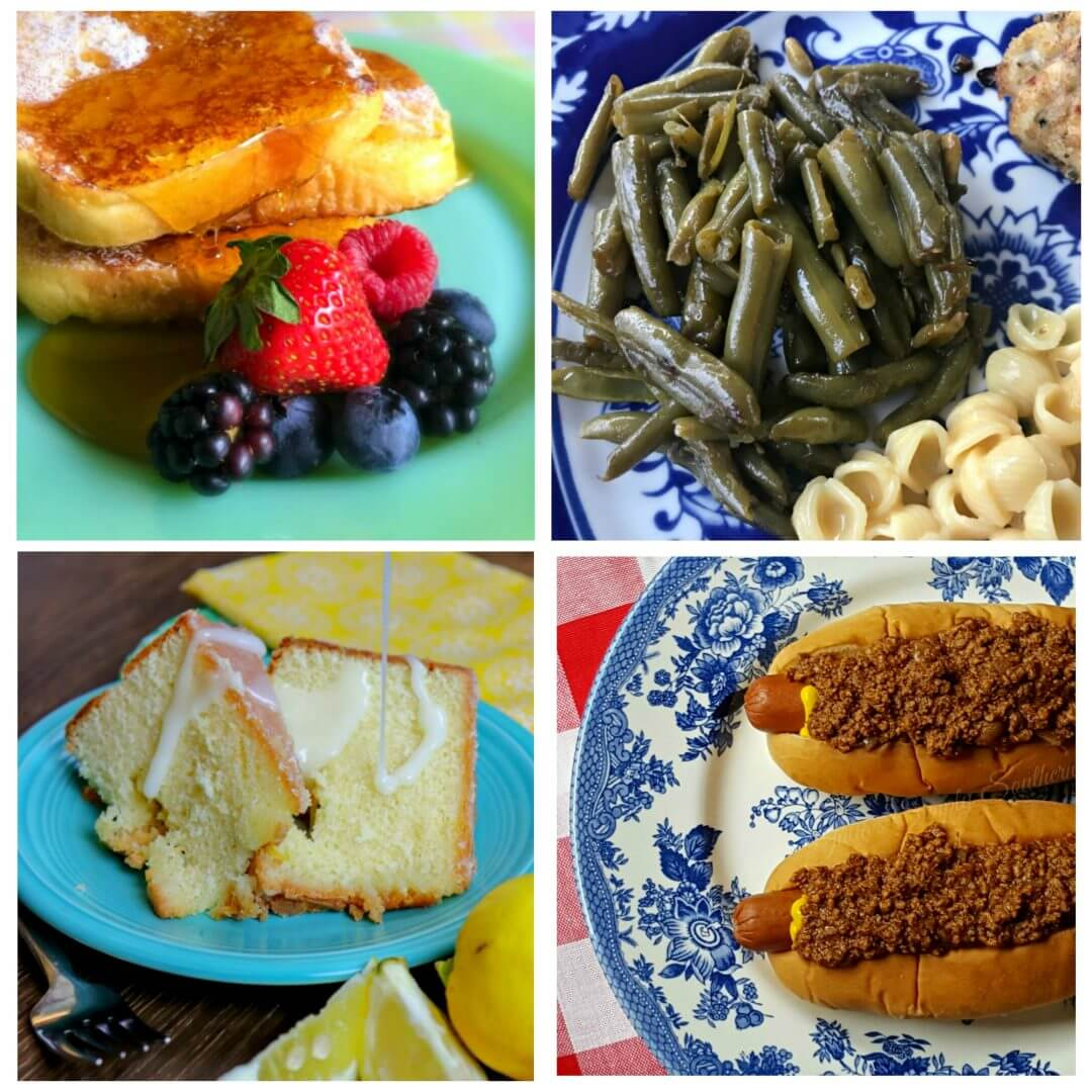 Meal Plan Monday 154 Food Collage of free recipes