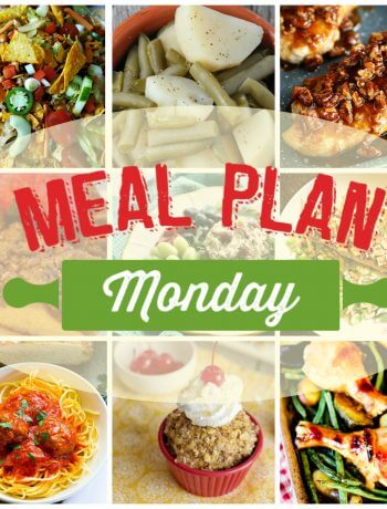 Meal Plan Monday #164 foodbloggers share free meal planning recipes