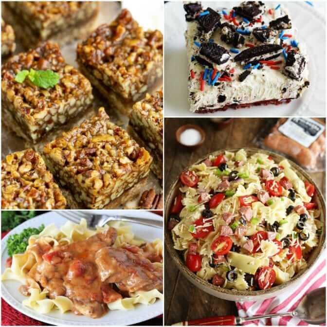 Meal Plan Monday #168 Kitchen Sink Pasta Salad