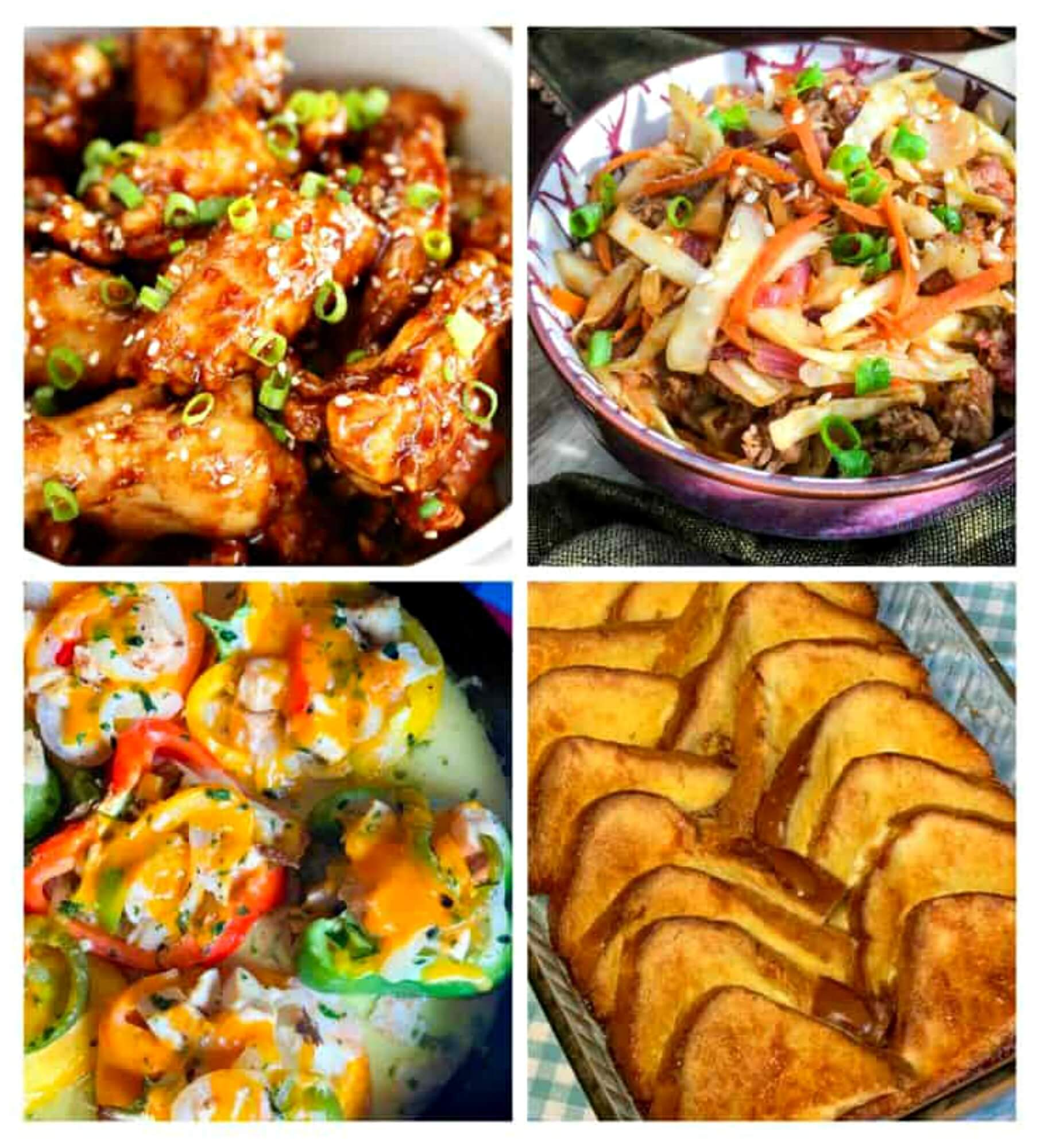Meal Plan Monday #188 Collage of featured recipes