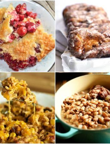 Meal Plan Monday 213 Cherry Crisp and more great recipes