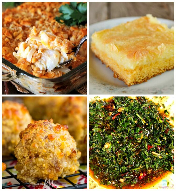 Meal Plan Monday 217 collage of featured recipes