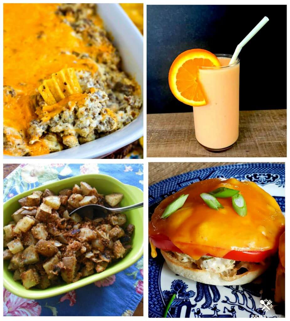 Meal Plan Monday Photo with feature recipes of this post