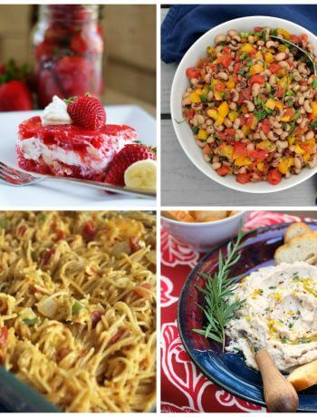 Meal Plan Monday #119 Strawberry Jello Salad