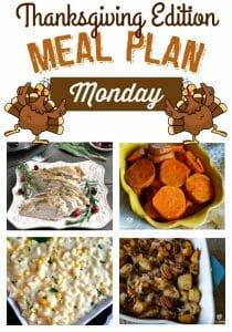 Are you searching for Thanksgiving Recipes? Find them at Meal Plan Monday #138 Thanksgiving Edition #Appetizers #SideDish #MainCourses #Desserts #Beverages #Recipes