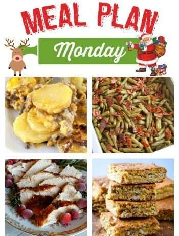Meal Plan Monday 141 - Hamburger Potato Casserole