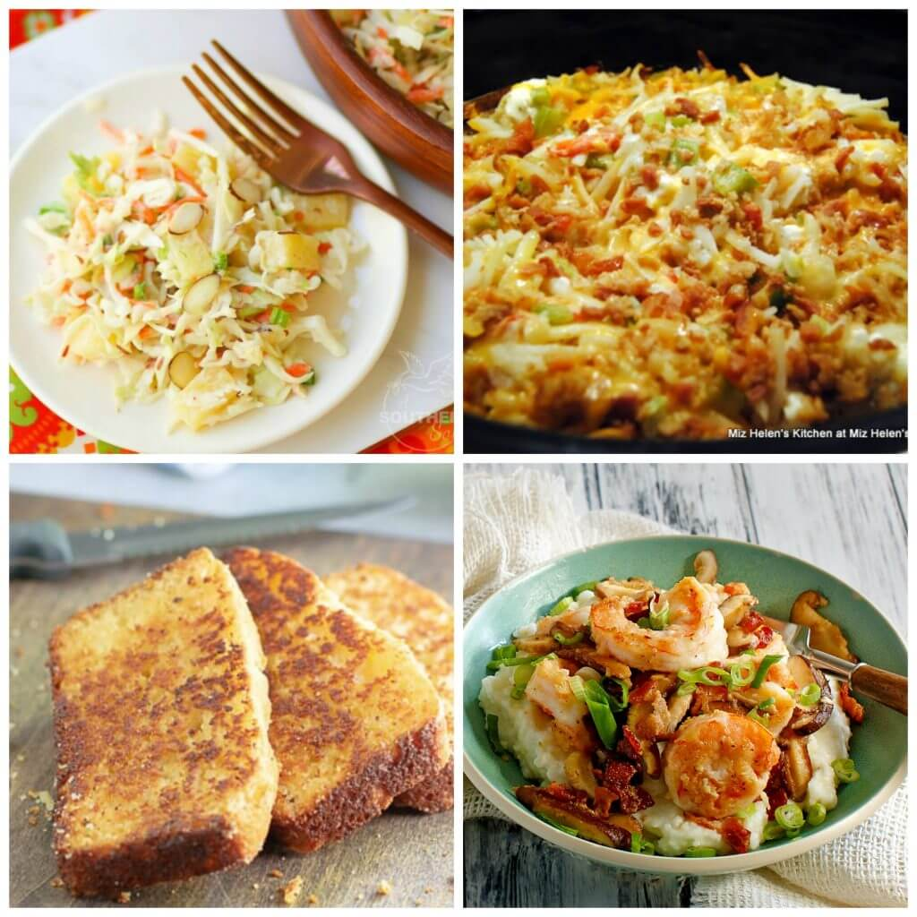 Meal Plan Monday #159 Collage of Featured Recipes