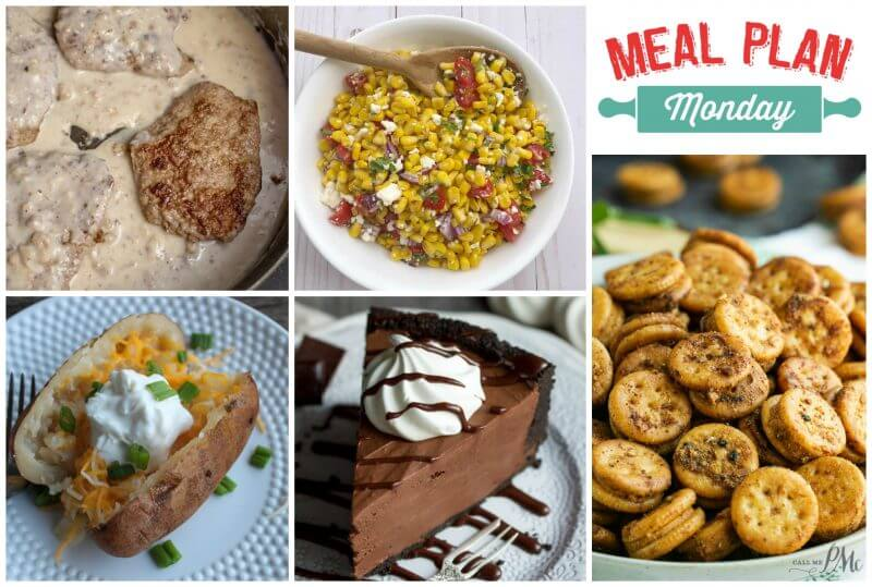 Meal Plan Monday #166 - free meal planning recipe ideas